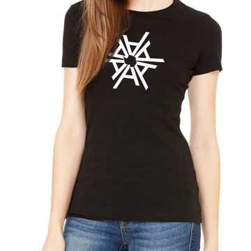 Female snowflake T-shirt