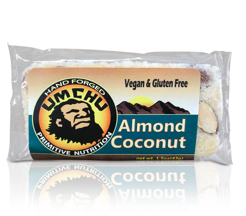 Almond Coconut (box of 12) Free Shipping