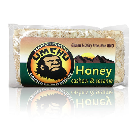 Honey Cashew & Sesame( (box of 12)