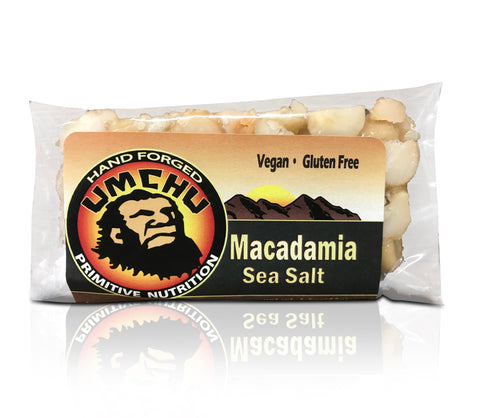 Macadamia Nut & Sea Salt (box of 12) -  Free Shipping