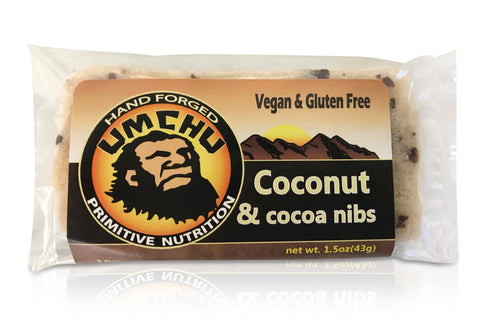 Coconut & Cocoa Nibs (box of 12) Free Shipping