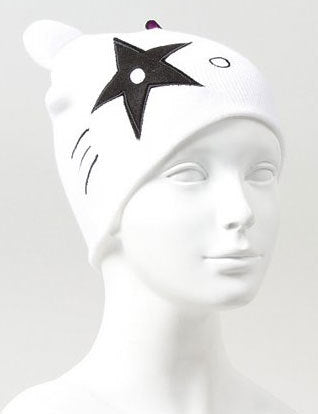 KISS Hello Kitty Starchild Knit Hat