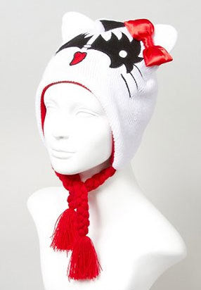 Hello Kitty KISS Demon Beanie