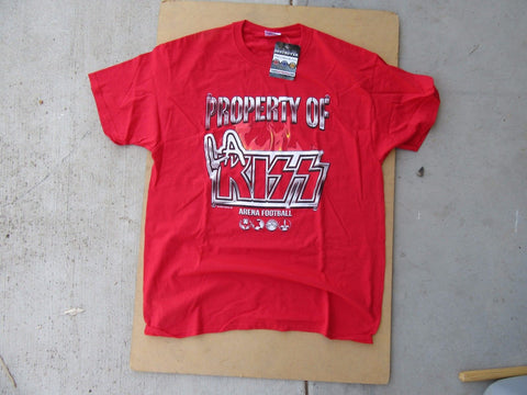 "LA KISS ""Property Of"" T-Shirt (#020)"