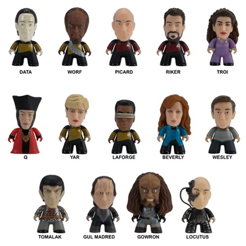 Star Trek: TNG Mini Figure Blind Pack