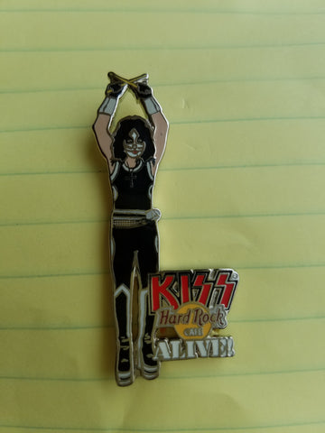 Kiss Peter Criss HRC Pin Alive