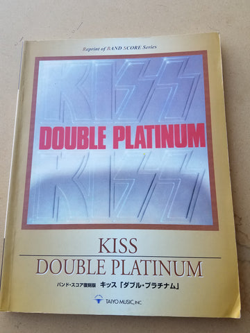 Kiss Double Platinum Song Book Taiyo Music