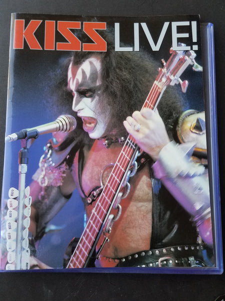 Kiss Live German Logo - Really nice photos and some high quality paper