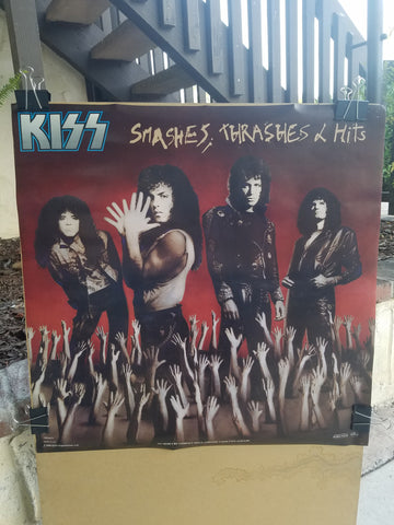 "KISS ""Smashes, Thrashes and Hits"" Promo Poster (#465)"
