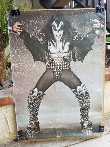 "KISS ""Gene Simmons England Solo"" Poster (#19)"