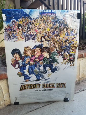 "KISS ""Detroit Rock City Goodbye"" Poster (#472)"