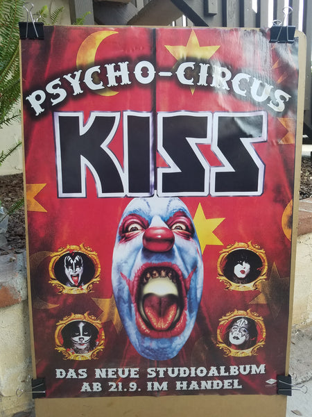 #575 Kiss Psycho Circus German Logo