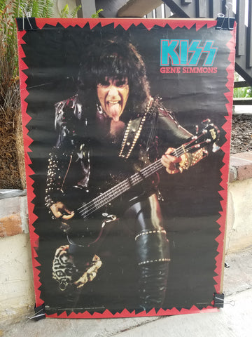 "KISS ""Gene Simmons Solo 1985"" Poster (#859)"