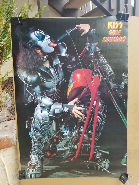 "KISS ""Gene Choppers Solo"" Poster (#401)"