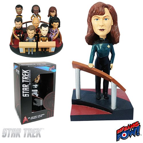 Star Trek: TNG Crusher Build a Bridge Bobble Head