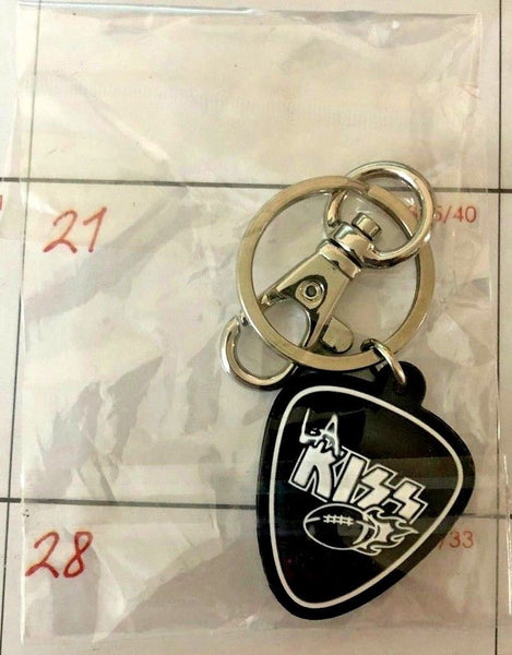 LA KISS Guitar Pick Key Chain