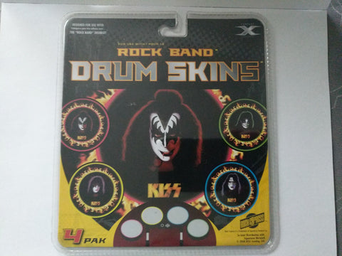 Drum Skins for Rock Band (4 pack)