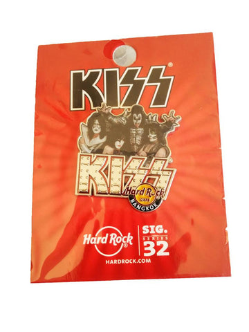 Hard Rock Cafe Kiss Bangkok Pin Signature Series 32