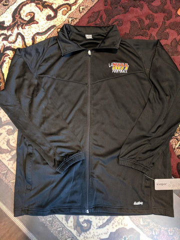 LA KISS Black Zip Up Jersey Jacket