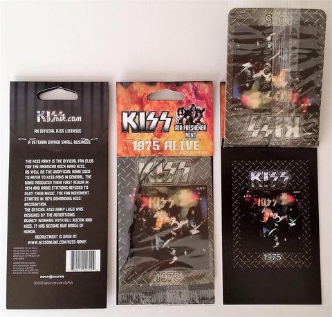 "KISS Alive ""mint"" scent air freshener"