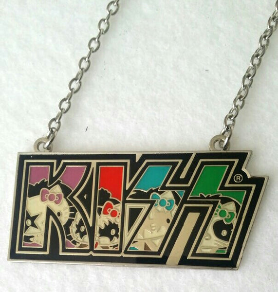 KISS Hello Kitty Logo Necklace