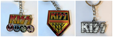 KISS Key Chain (3 Pack)