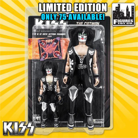 KISS Limited Edition 8 & 12 Inch Figure Two-Packs: Sonic Boom Series The Catman