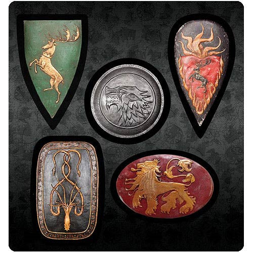 Game of Thrones Sheild Magnet Set