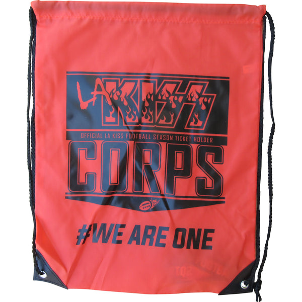 LA KISS 2016 Drawstring Bag With Lanyard