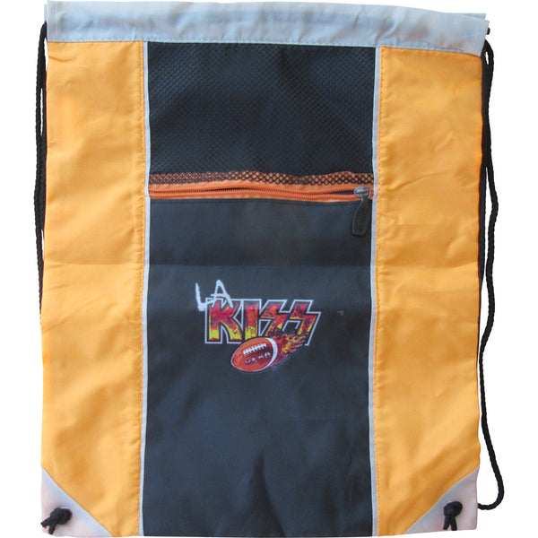LA KISS Heavy Mesh Drawstring Bag