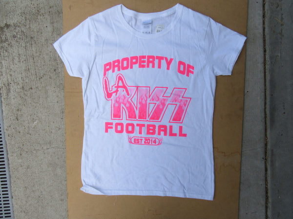 "LA KISS ""Property Of"" Ladies T-Shirt"