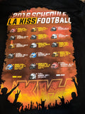 LA KISS 2016 Tour T-Shirt (#017)