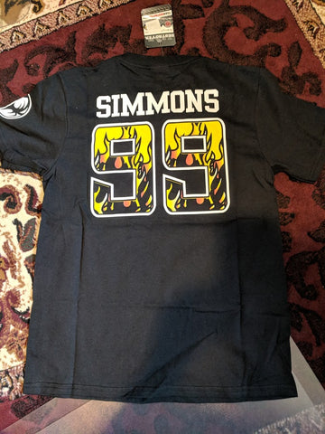 "LA KISS ""Simmons Player"" T-Shirt (#026/#Y003)"