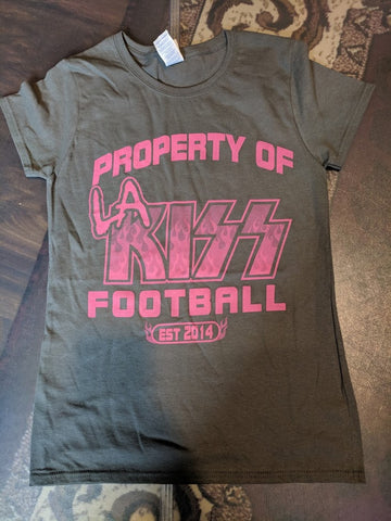 "LA KISS ""Property of"" Ladies T-Shirt (#032)"