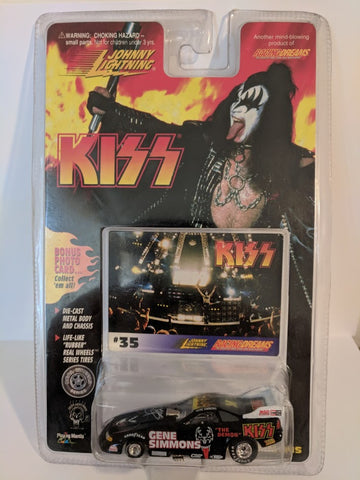 KISS Johnny Lightning Car #1