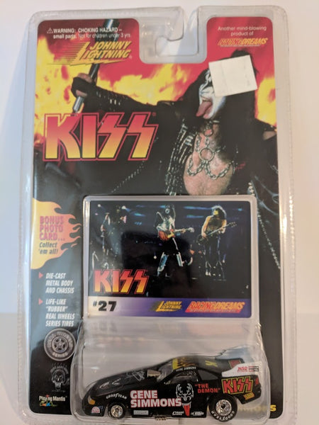 KISS Johnny Lightning Car #3