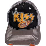 LA KISS Distressed Hat