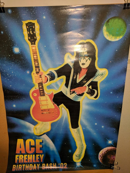 "KISS ""Ace Frehley"" Promo Poster (#409)"