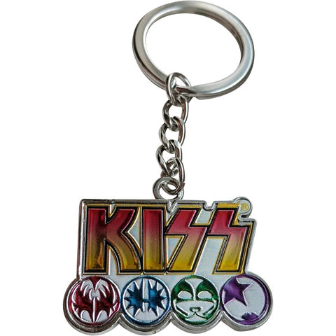 KISS Talisman Key Chain