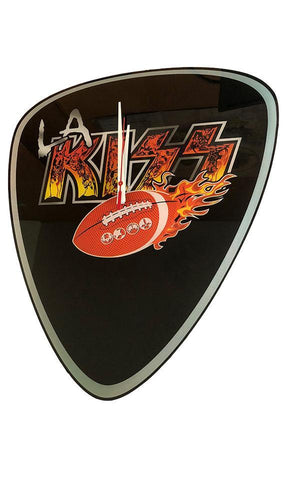 LA KISS Acrylic Clock