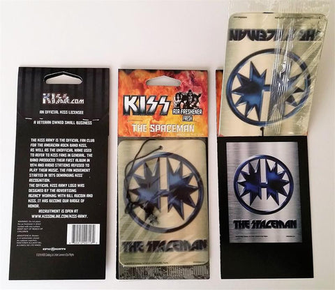 03 The Spaceman KISS Air Freshener from KISS4Sale.com!