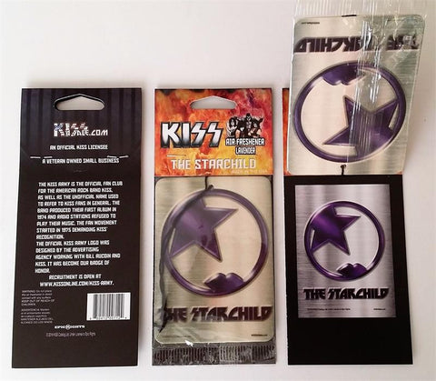 09 The Starchild KISS Air Freshener from KISS4Sale.com!