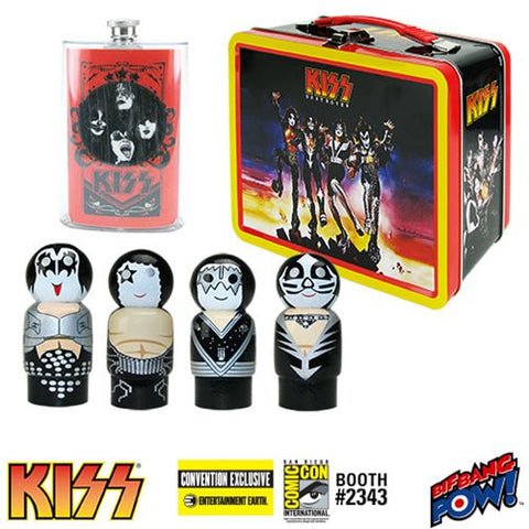 KISS Destroyer Tin Tote Gift Set - Convention Exclusive