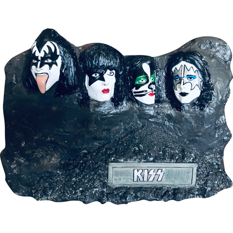 Kiss Mount Kissmore Hand Painted Comic Con Exclusive