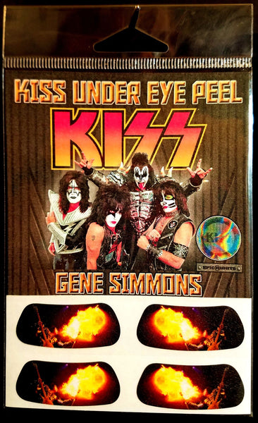 KISS Under Eye Peel Gene Simmons