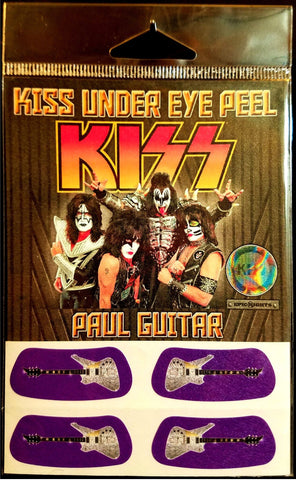 KISS Under Eye Peel Paul's Guitar