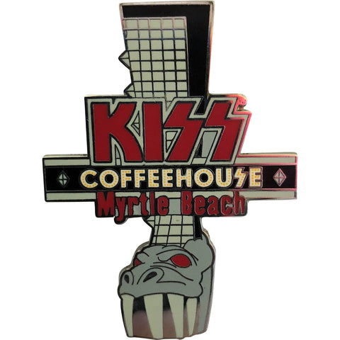 Myrtle Beach Coffee House Demon Boot Pin