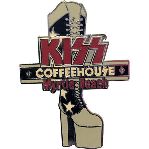Coffeehouse Myrtle Beach Starchild Boot Pin
