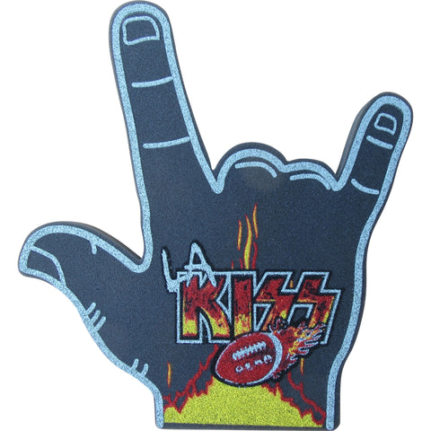 LA KISS Rock N Roll Foam Finger