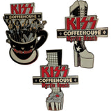 Myrtle Beach Coffeehouse Set of 3 Pins